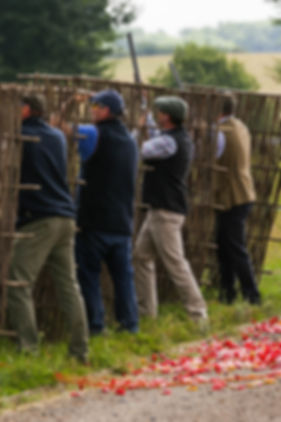 Breaking Clays charity clay shoot Norfolk 2016 shooters in action from 2015