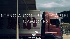 La CETM consigue la primera sentencia contra el cártel de camiones