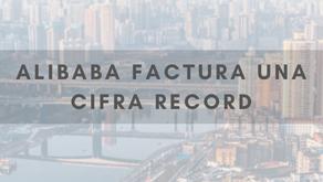 Alibaba factura una cifra récord por el Día del Soltero