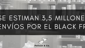 La paquetería moverá 3,5 millones de envíos el lunes siguiente al Black Friday