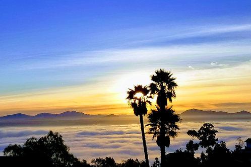 Foggy Sunrise, San Marcos, CA