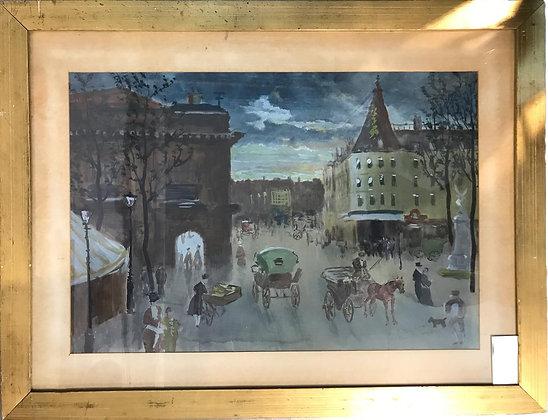 Cuadro Paris Medidas: 83 x 63 cm