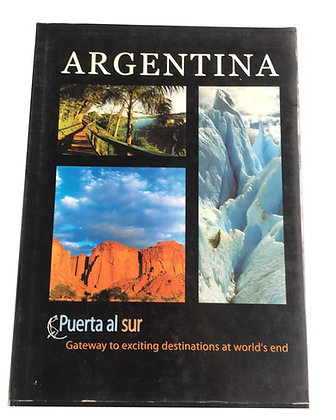 Libro Argentina Medidas: 30 cm x 19 cm aprox
