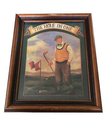 Cuadro 1 serie de Golf Medidas: 26 x 31 cm