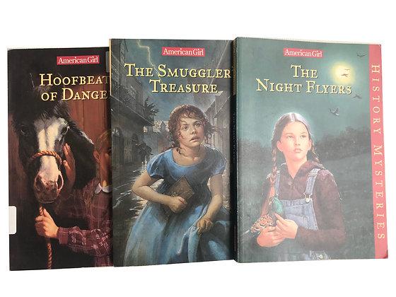 Pack de 3 libros de la colección American Girl Medidas: 12 cm x 8 cm aprox.
