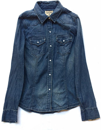 Camisa jean Converse Talle: S