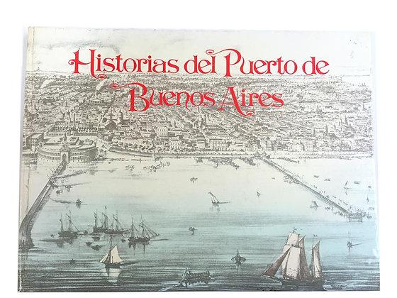 Libro Historias del Puerto de Buenos Aires Medidas: 30 cm x 18 cm aprox