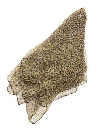 Pañuelo animal print Medidas: 150 x 80 cm