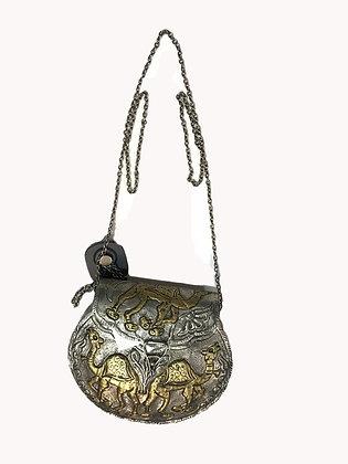 Cartera Metalica Medida: Pequeña 16 X 14 cm.