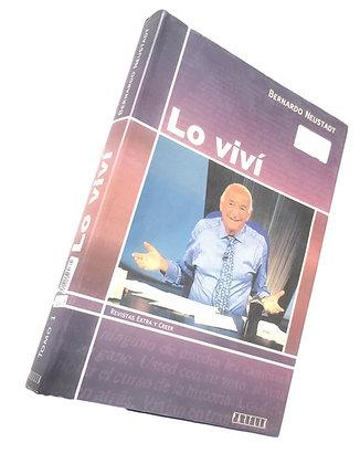 Libro Lo Viví.
