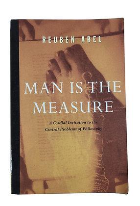Libro Man is the Measure Medidas: 25 x 17 cm