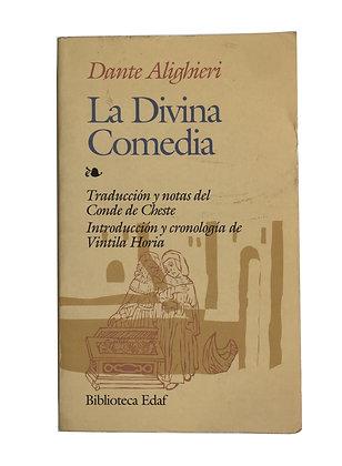 Libro La Divina Comedia Medidas: 25 x 17 cm aprox