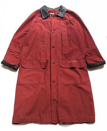 Abrigo largo  C-05 Talle: M estilo Barbour