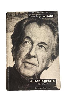 Libro Autobiografía Frank Iloyd.