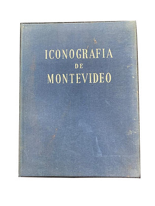 Libro Iconografia de Montevideo