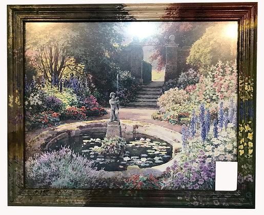 Cuadro Jardín de flores Medidas: 57 x 48 cm