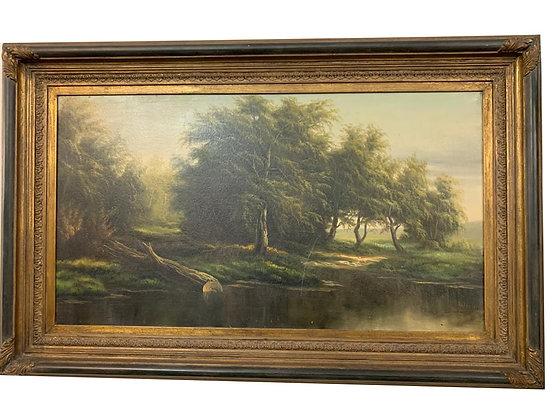 Cuadro de paisaje Medidas: 200 x 70 cm