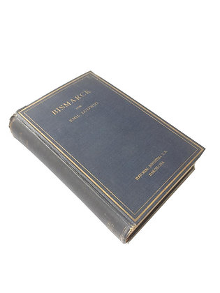 Libro Brismarck Medidas: 17 cm x 13 cm