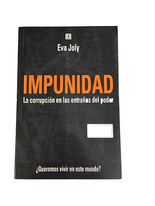 Libro Impunidad