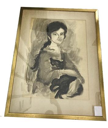 Cuadro retrato Medidas: 68 x 88 cm