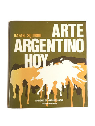 Libro Arte Argentino Hoy Medidas: 15 x 15 cm aprox.