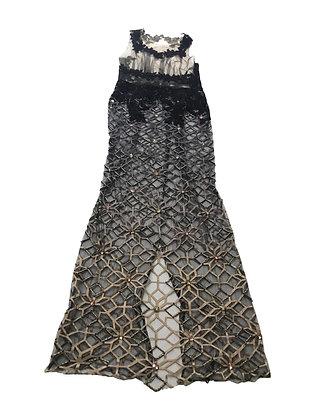 Vestido vintage sin marca Talle: S/M