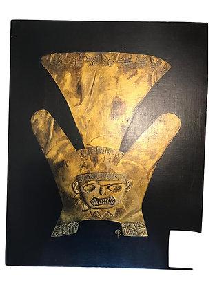 Cuadro Tocado de Oro Medidas: 48 x 38 cm
