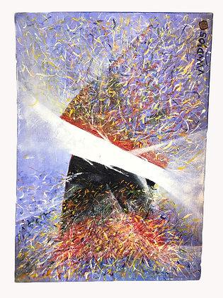 Cuadro Implosión Medidas: 50 x 70 cm