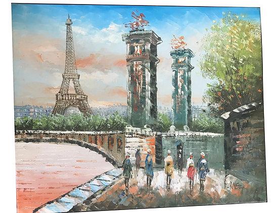 Cuadro Paris Medidas: 40 x 50 cm