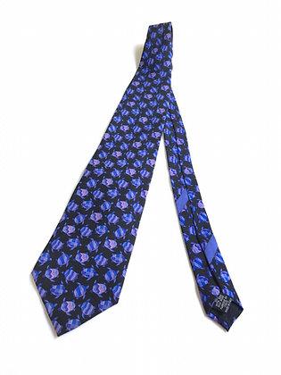 Corbata estampado de tortugas Ungaro