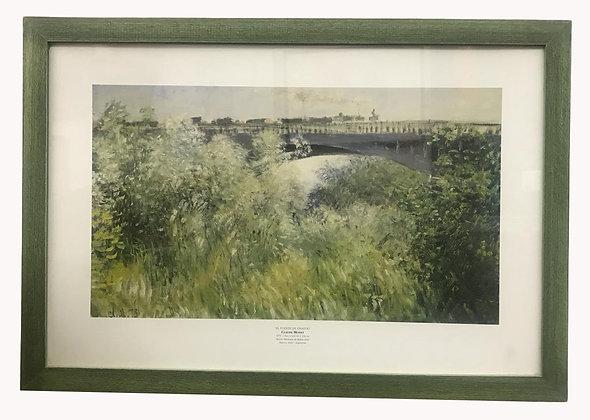 Cuadro paisaje de Monet Medidas: 40 x 50 cm aprox