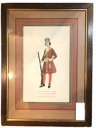 Cuadro Grenadier Officer Medidas: 52 x 39 cm