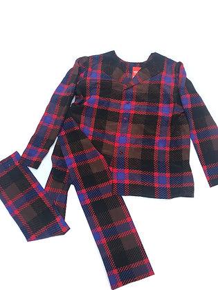 Blusa vintage con lazo Talle: M