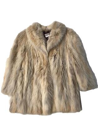 Abrigo de piel Talle: L