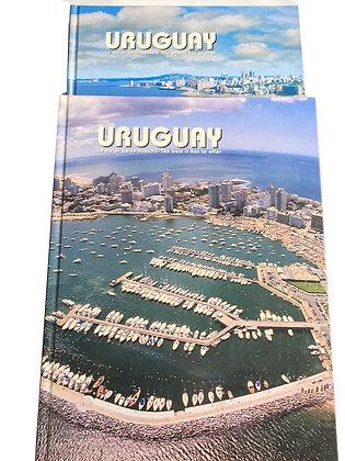Libro Uruguay 2 Tomos Medidas: 30 cm x 18 cm aprox