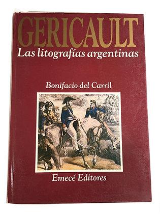 Libro Gericault, Las litografías argentinas Medidas: 21 cm x 17 cm aprox.