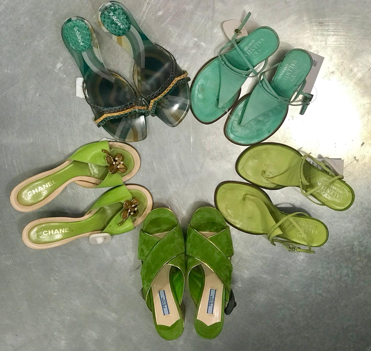 Zapatos de todas las tallas.