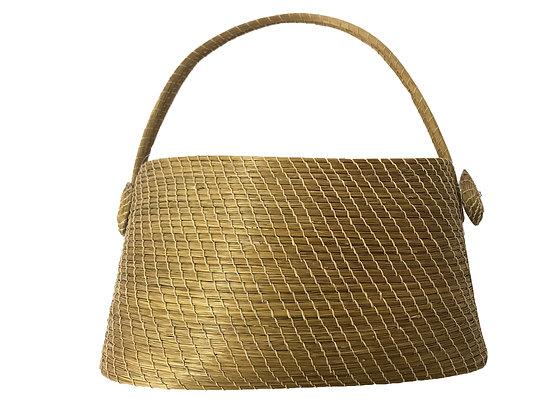 Cartera de capim dourado Medidas: 28 x 15 cm