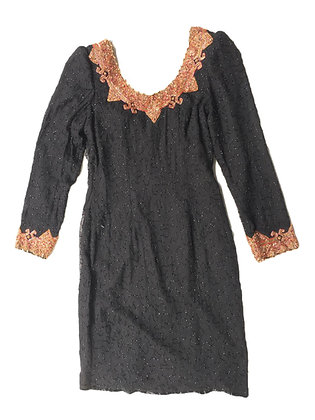 Vestido vintage Silky Talle: M