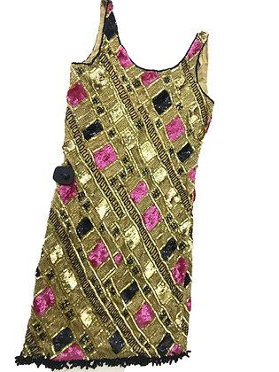 Vestido French Collezioni Talle: M