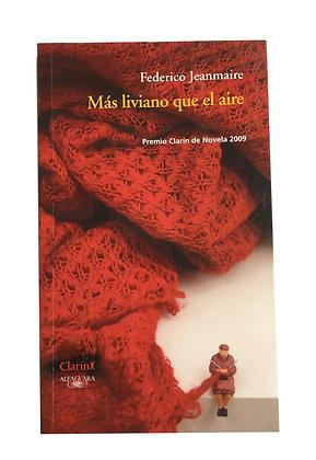 Libro Más liviano que el aire Medida: 25 x 17 cm