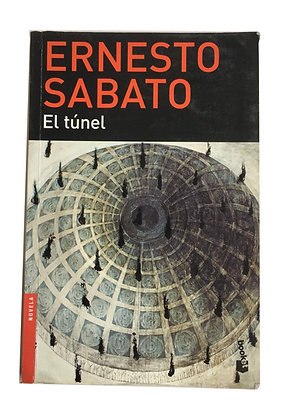 Libro El Túnel Medidas: 15 x 12 cm aprox.