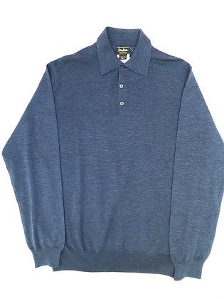 Sweater Neiman Marcus azul Talle: M.