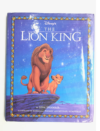 Libro The Lion King Medidas: 24 x 15 cm aprox