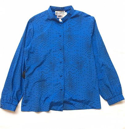Blusa Lanvin Talle: 14 cuello Mao, estampada