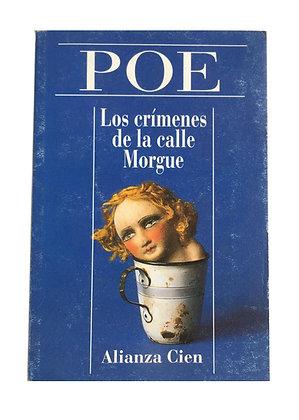 Libro Los crímenes de la calle Morgue Medidas: 17 cm x 12 cm aprox