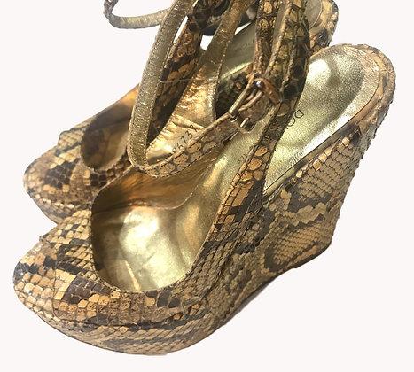 Sandalias Plataforma Dolce & Gabbana Talle: 37