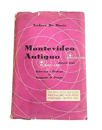 Libro Montevideo Antiguo Medidas: 12 cm x 17 cm aprox