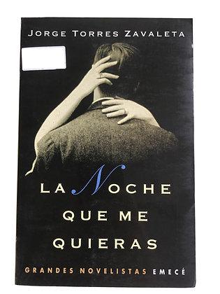 Libro La noche que me quieras Medidas: 23 cm x 15 cm aprox