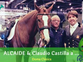 Claudio Castilla und der Lusitano ALCAIDE vom Yeguada la Perla in RIO 2016